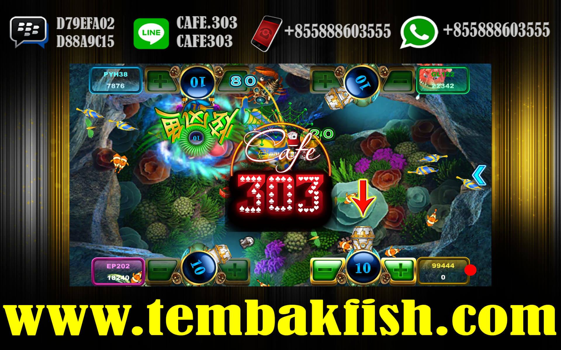 Agen Tembak Ikan Online Bonus Terbesar 2018